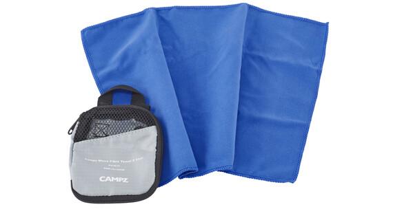 CAMPZ Micro Fibre Håndkle S Blå